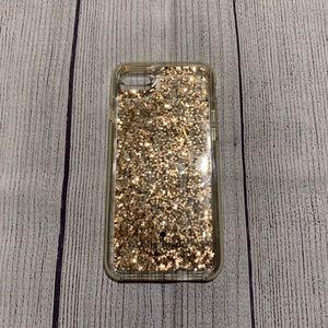 Kate Spade Gold Glitter Phone Case iPhone 6, 7